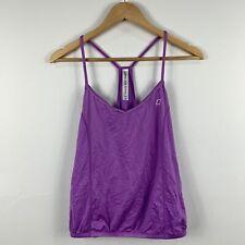 Lorna Jane Womens Tank Top Cami Size Small Purple Semi Fitted