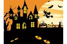 PAINTING BY NUMBERS HALLOWEEN WITCH T16130049