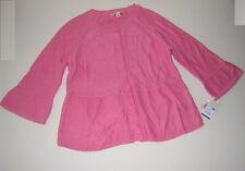 °º©MERONA*CHILD*MEDIUM PINK*KNIT CARDIGAN*BELL SLEEVES*TARGET*L*NWT©º°