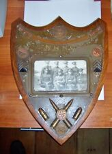 antique 197th Artillery National Guard New Hampshire commemorative wall plaque