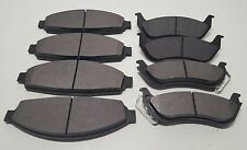 New Front & Rear Premium Brake Pads Fit 03-11 Town Car Crown Victoria Marquis