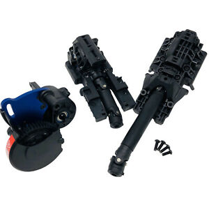 Traxxas Complete Front, Rear Diff & Centre Driveshaft - Gearbox - E-Revo 2.0 VXL