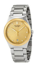 Victorinox 241633 Womens Gold Dial Analog Quartz Watch