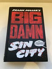 Frank Miller's Big Damn Sin City, Dark Horse Graphic Novel, Hc 2014 1st edition