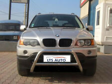 BMW X5 E53 E70 Cromo empujar a-bar, Acero Inoxidable Bull Bar 2001-2009 Modelos W K