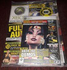 Xbox Magazine Full Auto Saint's Row Demo Disc 💿 RARE OOP NEW XBOX 360 KAMEO💥💥