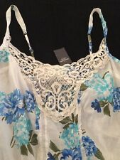 NWT   Abercrombie & Fitch Womens    Tank Top Floral   M   GREAT SAVINGS