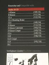 Genuine Mercedes Benz carte sd garmin map pilot V7 2017 plus A2189069202