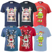Mens Christmas T Shirt D555 Duke Xmas Reindeer Music Novelty Top Rudy Party New