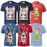 Mens Christmas T Shirt D555 Duke Xmas Reindeer Music Novelty Top Rudy Party New