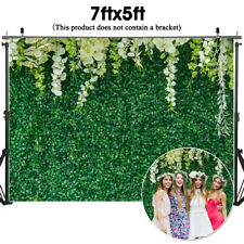 Us 7x5ft Flower Leaves Photo Cloth Photography Background Backdrops Studio Prop