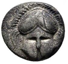 400-300 BC Thrace Mesembria AR diobol VF