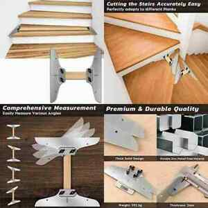 Stair Tread Template Replacement Template Steps Risers Hand Tool Clamp NICE