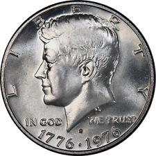 1976-S John Kennedy Silver Dual Date Bicentennial Commemorative Half Dollar UNC