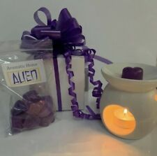 LUXURY OIL BURNER GIFT SET 10 SCENTED WAX MELTS GIFT BOX *PERFECT GIFT
