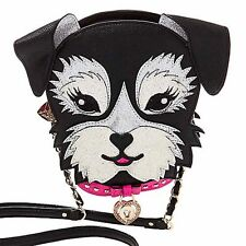 NWT Betsey Johnson Kitsch 'Fritzy' Crossbody Doggie Bag $88 HIGHLY COLLECTABLE!