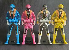 Gokaiger Power Ranger Key SPECIAL EDITION SHINY Metallic Bandai Japan Gokai 4Lot
