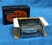 Old Rare NOS Calrad EW-2 Edgewise VU meter in original box UN-USED - Buy it now!