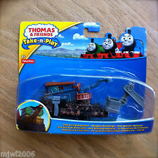 Thomas & Friends THE SCRAP MONSTER Take-N-Play diecast INTL CARD Wagon Decharge