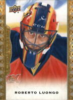 2014-15 UD Masterpieces Panthers Hockey Card #91 Roberto Luongo SP