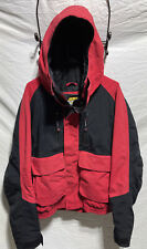 Cabela's Gore-Tex Guidewear Parka Mens XL Red Jacket Fish Boat Outdoors Hunt