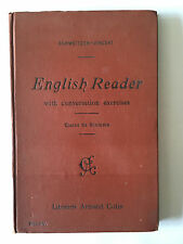 ENGLISH READER WITH CONVERSATION EXERCICES 1916 SCHWEITZER 6 EME SIXIEME