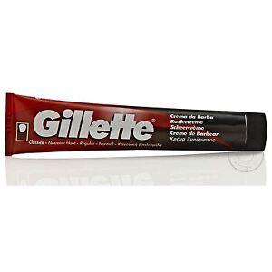 Gillette Klassisch Rasiercreme Tube - 100g