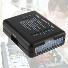 LED 20/24 Pin PSU ATX SATA HDD Power Supply Tester Checker Meter PC Computer#DB