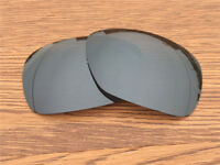 Inew Black Iridium polarized Replacement Lenses for Oakley Inmate