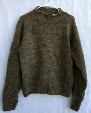 Dr Martens Wool Turtle Neck Heavy Knit Sweater Marmoled Colors Size Medium