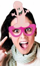 Party Pecker Willy Penis Glasses Pink Bachelorette Party Hen Night Bride to Be