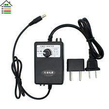 Adjustable Power Supply Adapter AC110-240V to DC3-12V1A Motor Speed Controller
