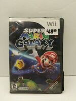 Super Mario Galaxy(Nintendo Wii, 2007)Tested - No Manual Damaged Case Game Works