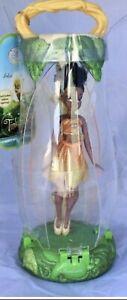 Disney Store Tinkerbell Fairies Iridessa Petal Case Doll Figure African American