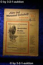 Auto und Motorrad Zeitschrift Nr. 11/51  15.3.1951 Der Auto Markt