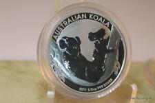 """Australien Lunar II,  50-Cent 2011 1/2 oz Silber """"Koala"""""""