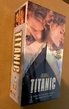 Titanic (VHS, 1998, 2-Tape Set, Pan-and-Scan) academy awards best picture sealed