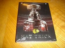 NEW Chicago Blackhawks Hockey Hat Trick DVD 2015 NHL Stanley Cup Champions