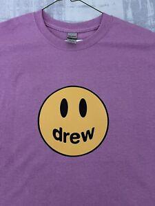 Drew House Tshirt Size Large Justin Bieber  Gildan 100% Cotton