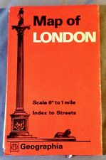 Geographia International Map of London England ISBN 0092010407