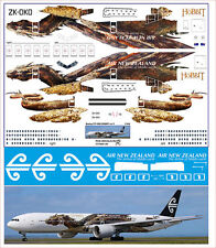1/144 PAS-DECALS. ZVEZDA BOEING 777-300 Air New Zealand Hobbit v 2
