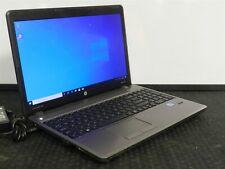 HP ProBook 4540s Laptop PC i3 4GB 128GB SSD Windows 10 BIOS LOCK NO BATTERY