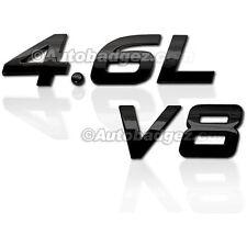 1- NEW FORD MUSTANG Badge Emblem Rear Side Fender 4.6L V8 GLOSS BLACK 1IT