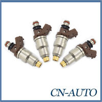 4X Fuel injector For Toyota 99-02 Prado 97-05 Hilux RZN 98-01 Hiace 3RZFE 2.7L
