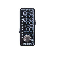 New Mooer Gas Station 001 Digital Micro PreAmp Guitar Effects Pedal Open Box