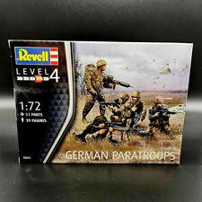 Revell 02521 deutsche Fallschirmjäger modern 1/72