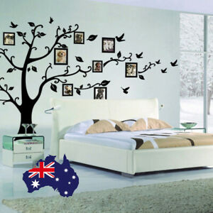 Removable Wall Stickers Photo Frame Family Tree Decal Large 100*80CM FAST POST!