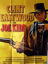 JOE KIDD French Grande movie poster 47x63 CLINT EASTWOOD Mascii Art