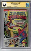 SPECTACULAR SPIDER-MAN #1 SIGNED BY STAN LEE CGC SS GRADED 9.6 MARVEL COMIC BOOK
