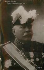 1910 French Military General Joffre Commander in Chief RPPC real photo  4917